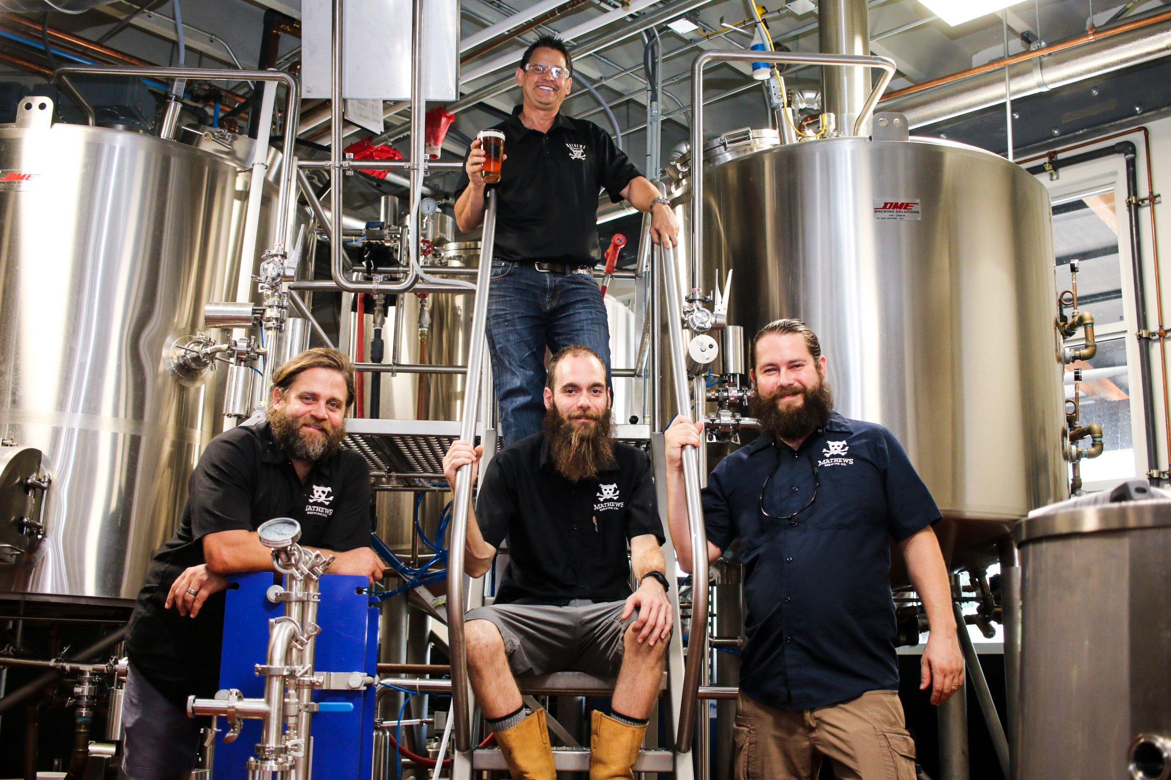 Our Brewery Mathews Brewing Co